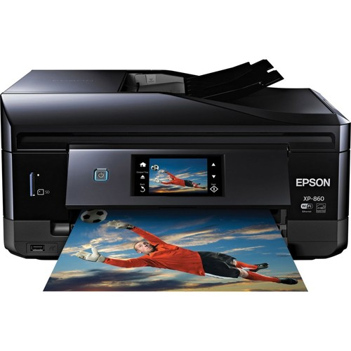 Epson Expression XP-860 Wireless Small-in-One Multifunction Color Inkjet Photo Printer