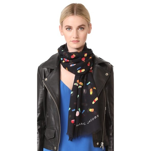 MARC JACOBS Pills Stole Scarf