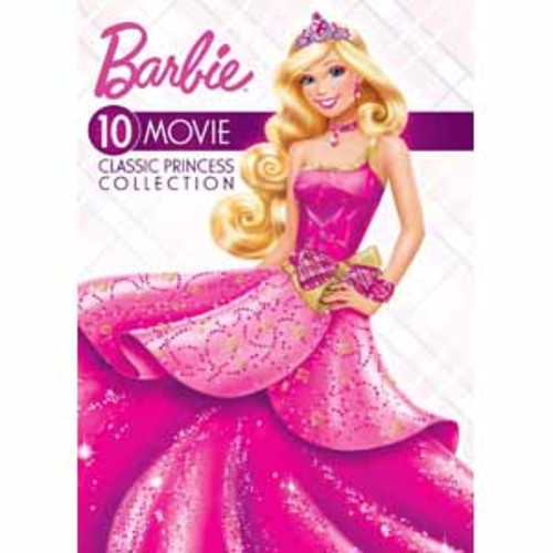 Barbie: 10-Movie Classic Princess Collection [DVD]