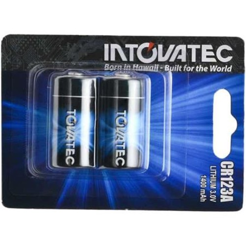 Tovatec CR123 3V Battery for LED Torch IT123