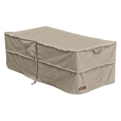 Classic Accessories Montlake Patio Ottoman / Table Cover