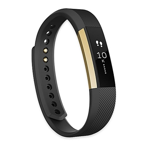 Fitbit Alta Fitness Large Wristband in Gold/Black