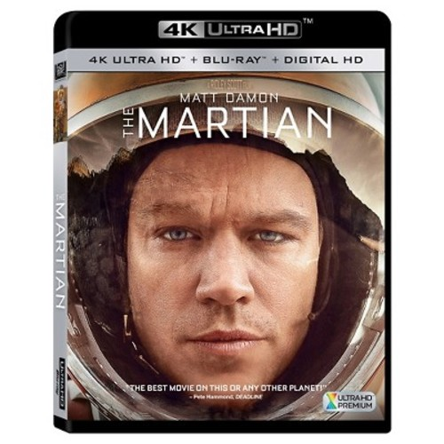 The Martian [4K UHD] [Blu-Ray] [Digital HD]
