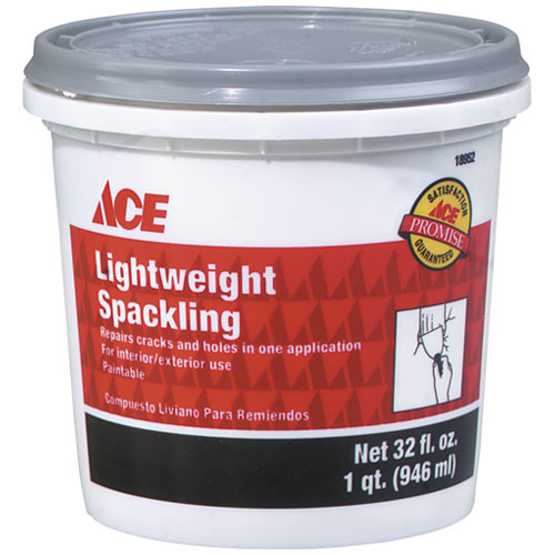 Ace 1qt Lightweight Spackling Compound