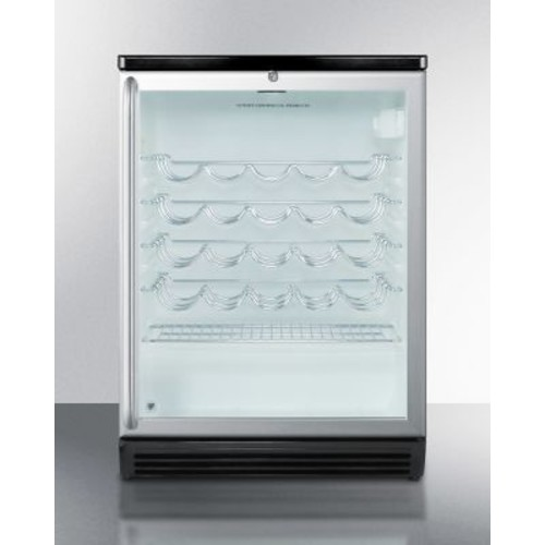 Summit Appliance 26 Bottle Single Zone Freestanding Wine Cooler