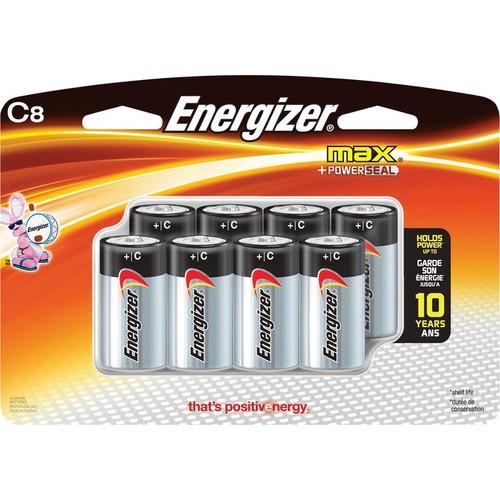 Energizer MAX Alkaline C Batteries  8-Pk.,