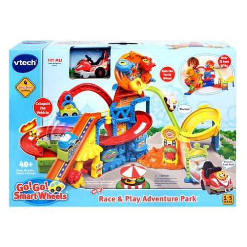 VTech Go! Go! Smart Wheels Race and Play Adventure Park Playset