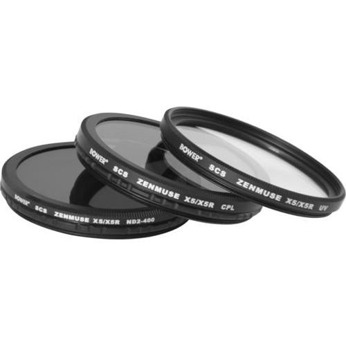 Bower - Sky Capture Series UV / Circular Polarizer / Neutral Density Lens Filter (3-Count)