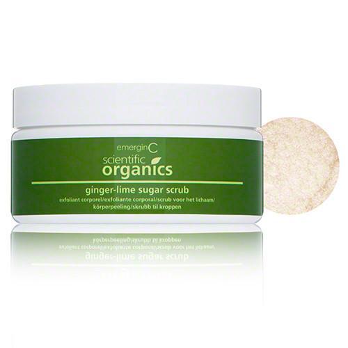 Scientific Organics Ginger-Lime Sugar Scrub (8 oz.)