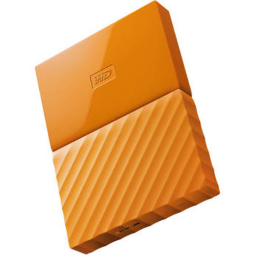 3TB My Passport USB 3.0 Secure Portable Hard Drive (Orange)