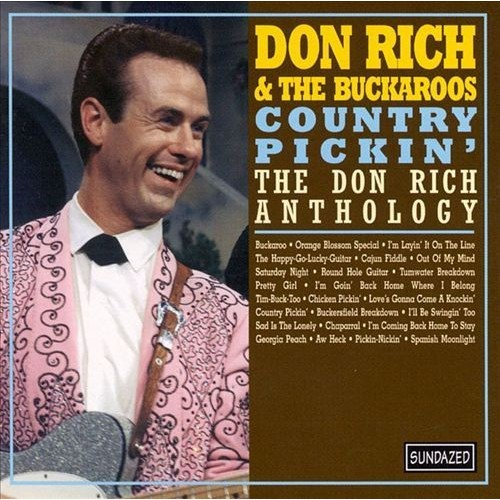 Country Pickin'-Don Rich Antho CD (2002)