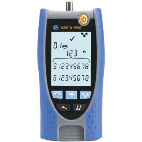 IDEAL VDV II Pro RJ45 and Coaxial Cable Tester