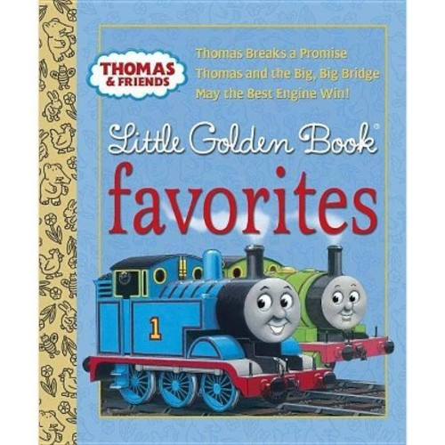 Thomas and Friends Little Golden Book Favorites : Thomas Breaks a Promise / Thomas and the Big, Big