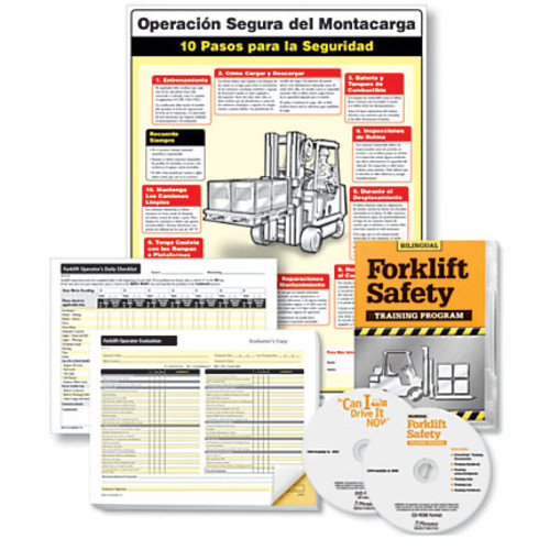ComplyRight Forklift Training Compliance Bundle, English/Spanish, 18
