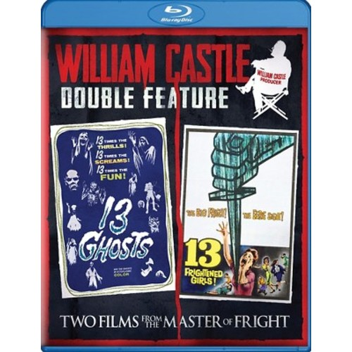 William Castle Double Feature: 13 Ghosts/13 Frightened Girls! (Blu-ray)