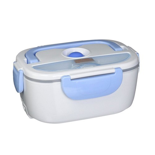 Tayama Electric Lunch Box in White Light Blue