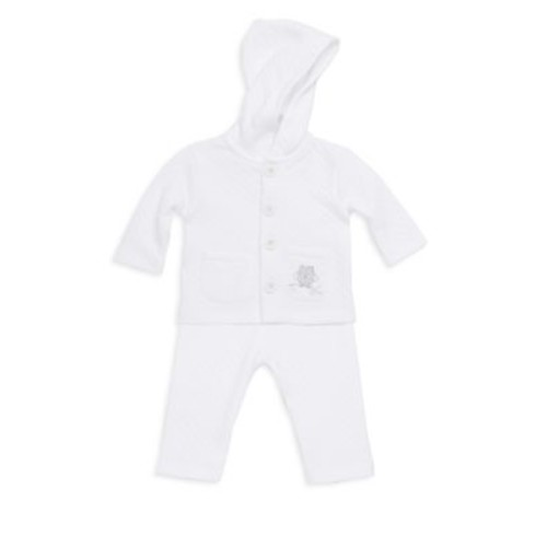 Baby's Two-Piece Cotton Quilted Top & Pants Set