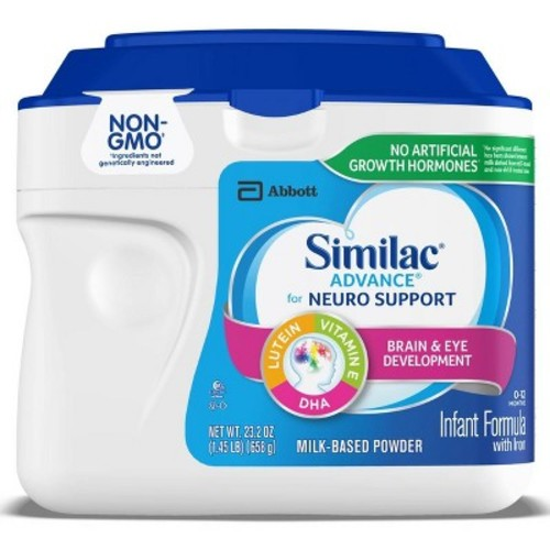 Similac Advance Non-GMO Infant Formula Powder - 1.45lb