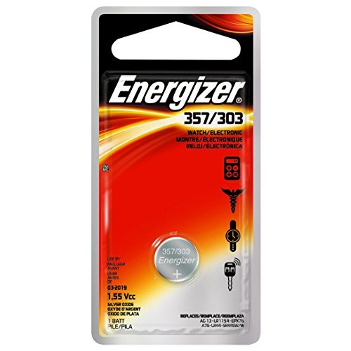 Energizer 357BPZ 3V Zero Mercury Battery - 1 Pack: Energizer: Health & Personal Care [one size]