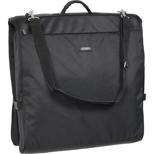 WallyBags 45 Inch Framed Garment Bag with Shoulder Strap [Black]