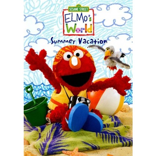 Sesame Street Elmo's World: Summer Vacation DVD