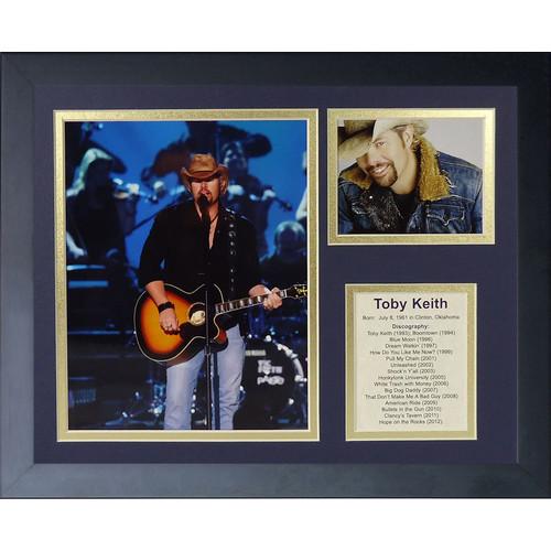 Toby Keith Framed Memorabilia