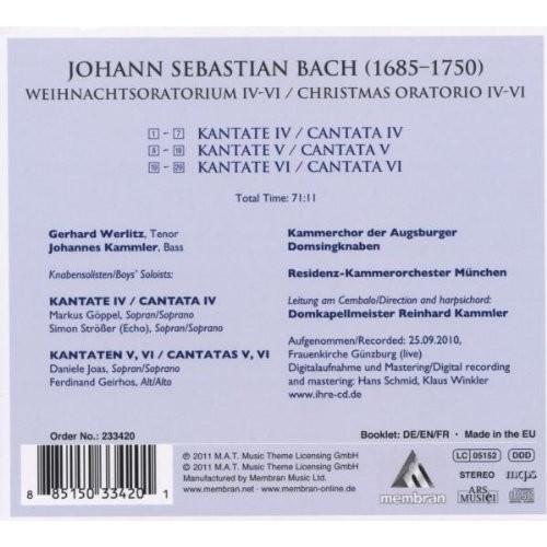 Christmas Oratorio IV-VI