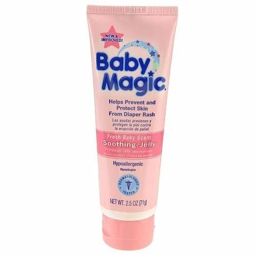 Baby Magic Petroleum Jelly Tube 2.5 Oz (Pack of 8)