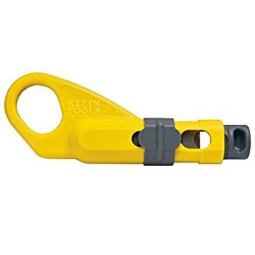 Klein Tools VDV110-095 Coax Combination Radial Stripper [Universal COAX Prep Tool]