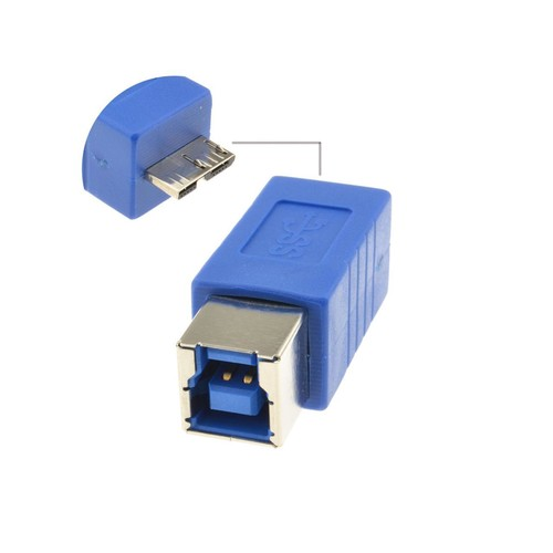 USB 3.0 SuperSpeed Type B Female to Micro B Male 10 pin Adapter