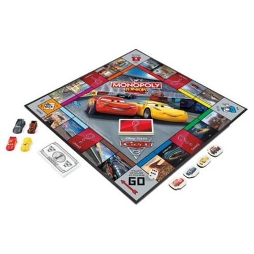 Monopoly - Disney Pixar Cars 3 Lightning McQueen Junior Game