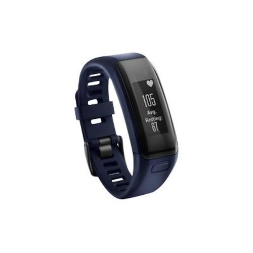 Garmin International vvosmart HR - Activity tracker - 5.35 in - 7.36 in - Regular - monochrome - Bluetooth, ANT/ANT+ - 1.04 oz - midnight blue (010-01955-08)