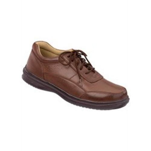 Men's Lace-Up Shoes, Color Brown, Size 10 M