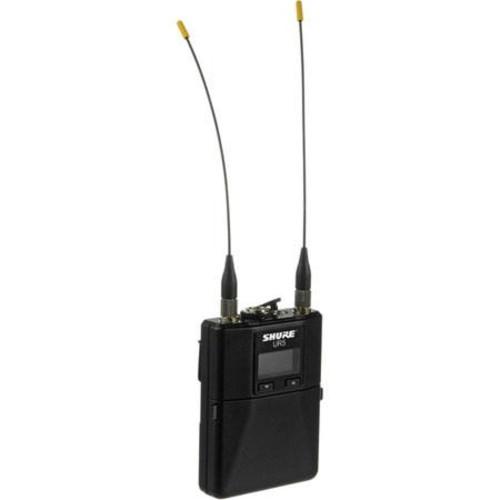 UR5-G1 Portable Diversity Receiver, 50 Hz-16 kHz Audio Frequency Response, G1/470-530MHz RF Carrier Range