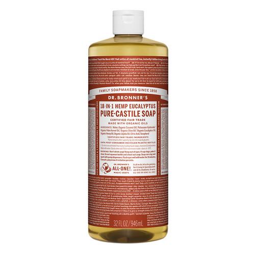 Dr. Bronner's Hemp Pure-Castile Soap Eucalyptus