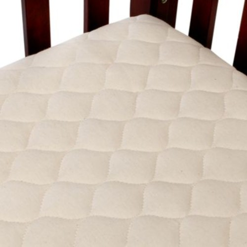 TL Care Waterproof Crib Fitted Mattress Cover Made with Organic Cotton in Natural