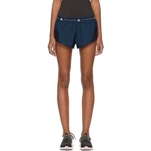 ADIDAS BY STELLA MCCARTNEY Navy Run Adizero Shorts