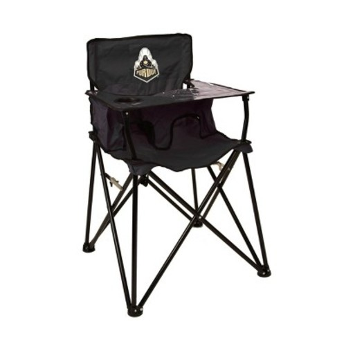 ciao! baby Purdue Boilermakers Portable Highchair in Black