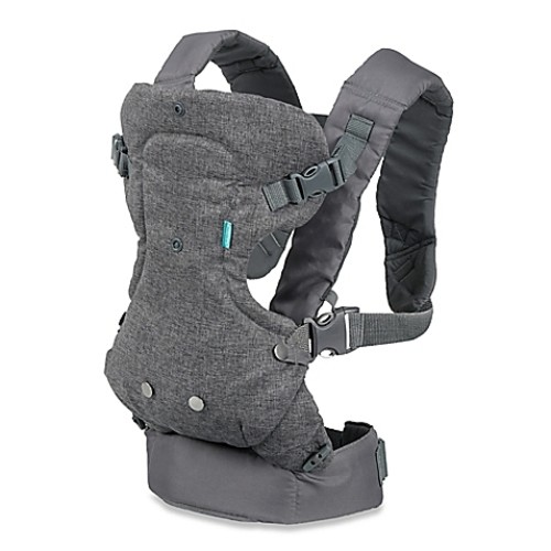 Infantino Flip Advanced 4-in-1 Convertible Carrier in Grey