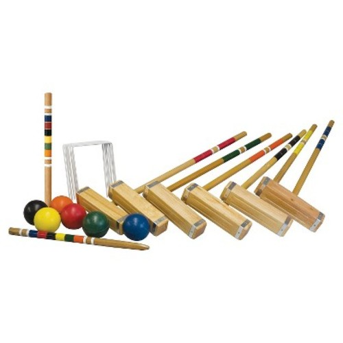 Franklin Sports Advanced 6 Player Croquet Set