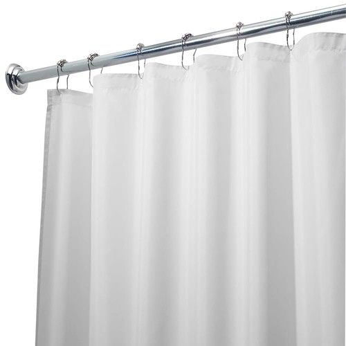 Waterproof Fabric Shower Curtain Liner - 72'' x 108''