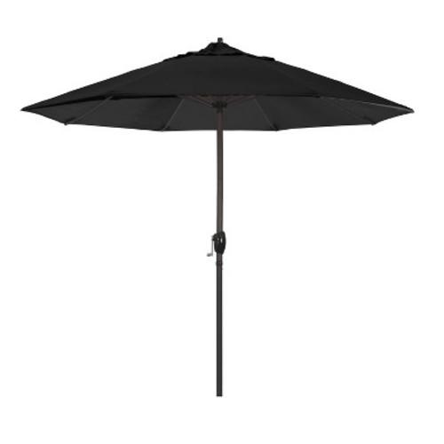 California Umbrella 9 ft. Aluminum Auto Tilt Olefin Patio Umbrella