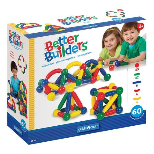 Guidecraft Better Builders - 60 Piece Set