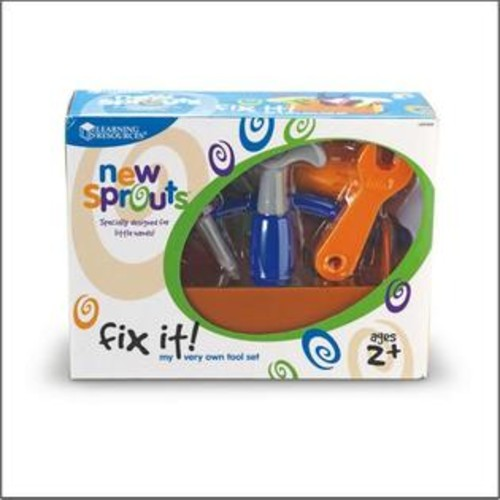 Learning Resources LN1356 New Sprouts Fix it My Very Own Tool Set
