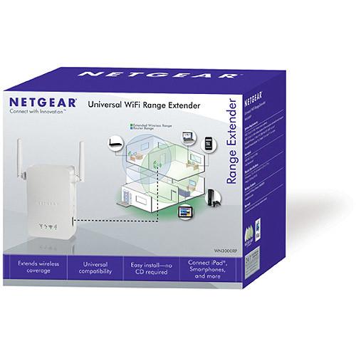 NETGEAR N300 Wall Plug Version Wi-Fi Range Extender (WN3000RP)