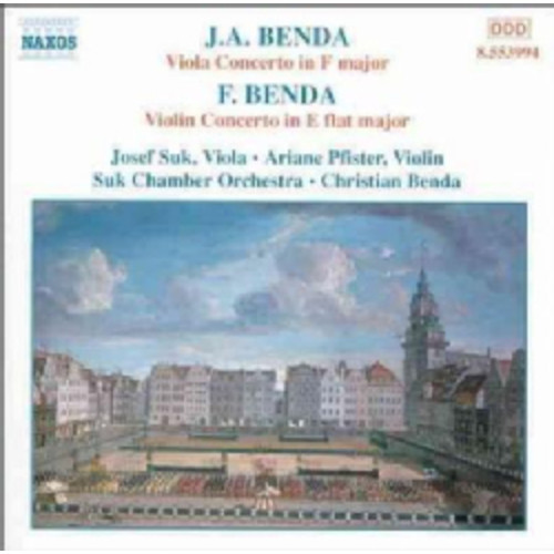 Josef Suk/A Plister - Benda:Violin Concertos