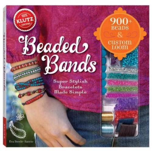 Klutz Beaded Bands: Super Stylish Bracelets Made Simple Craft Kit