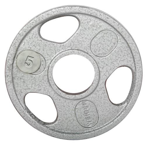Weider 5 lb. Olympic Handle Hammertone Plate