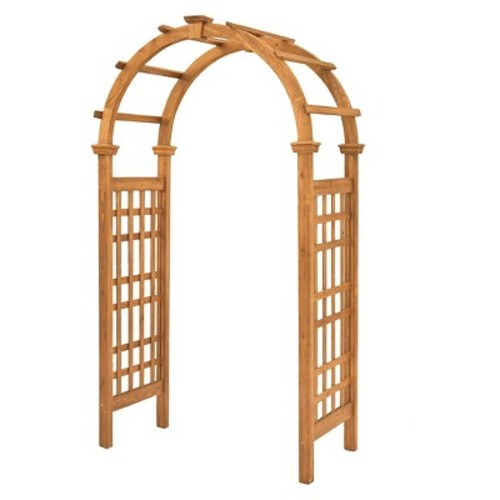 Rosewood Arbor - Brown - New England Arbors