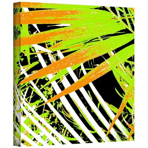 Art Wall Herb Dickinson 'Palms Away III' Gallery-Wrapped Canvas